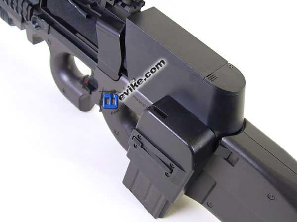 Matrix 1500 RD Box Magazine for P90 series Airsoft AEG (Marui King Arms FN Herstal Echo1 E90)