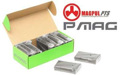z Magpul PTS 50rd PMAG Mid-Cap for M4 / M16 Series Airsoft AEG - OD Green (Box Set of 10)