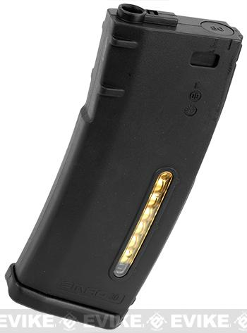 z PTS Magpul EMag 30rd Mid-Cap Mag for M4 M16 Series Airsoft AEG Rifles - Black (One)