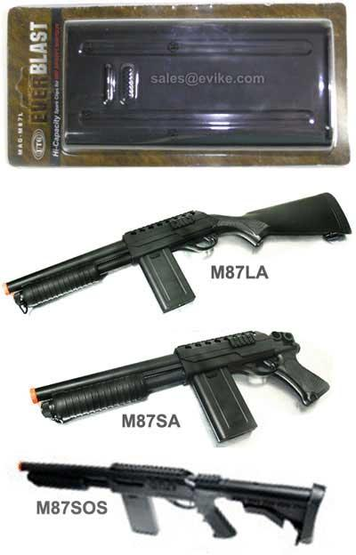 UTG 200 rd Hi-Cap Magazine for M87 Series Shotgun