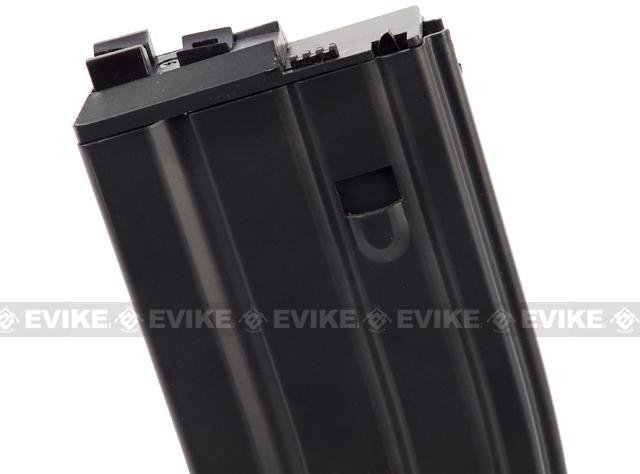 WE Spare Mag for OPEN BOLT WE M4 / SCAR / ASC / PDW Series Airsoft Gas Blowback Rifles (Green Gas / Black)
