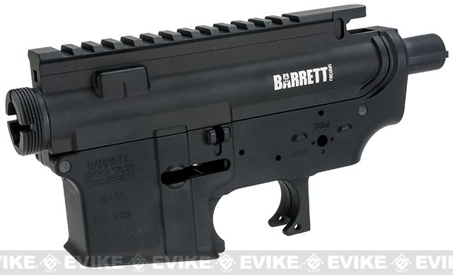 Madbull Licensed Full Metal Barrett Rifles Ver. 2 Receiver for M4/M16 Airsoft AEGs - Black