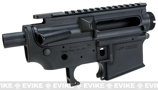 Madbull Licensed Full Metal JP Enterprises Ver. 2 Receiver for M4/M16 Airsoft AEGs - Black