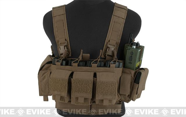 Mayflower Research and Consulting LE/Active Shooter Chest Rig - Coyote