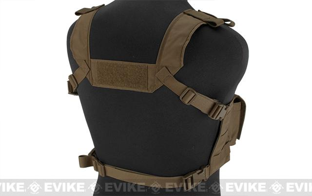 Mayflower Research and Consulting 7.62 Hybrid Chest Rig - Coyote Brown