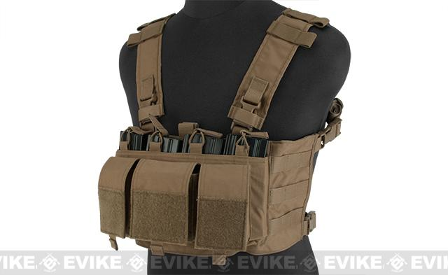 Mayflower Research and Consulting 5.56 Hybrid Chest Rig - Coyote