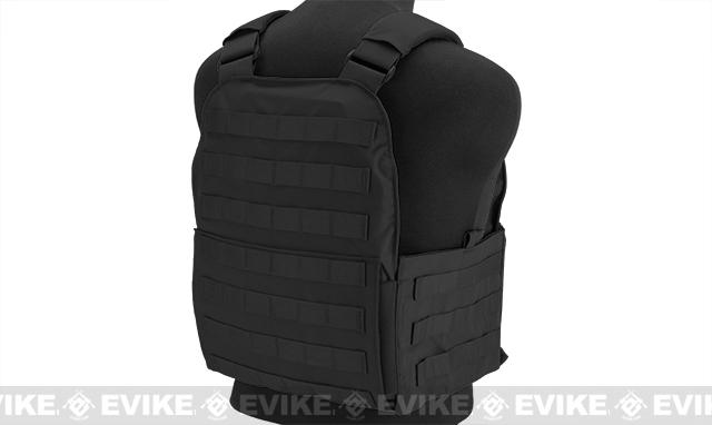 Mayflower Research and Consulting Assault Plate Carrier - Black (Size: L/XL- Medium Cummerbund)