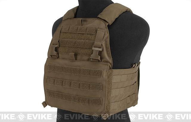 Mayflower Research and Consulting Assault Plate Carrier - Coyote Brown  (Size: S/M - Small Cummerbund)