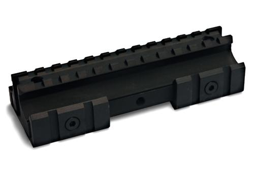 AR15 Tri-Mount Flattop Mount / Riser / Scope Mount / Ras Fixed w/ 2 Modular Rail