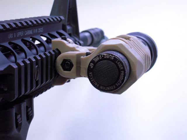 Matrix Dynamic Tactical 5 Position 1 Flashlight / Laser Mount (Dark Tan)