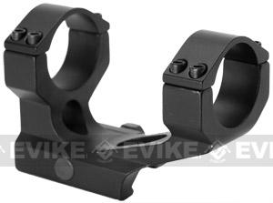 Full Metal Off-Set Dual 30mm QD Scope Mount for Aimpoint Type Red Dot Scopes