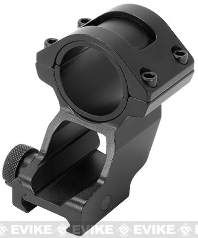 NcSTAR 30mm QD Cantilever Scope / Flashlight Ring with Weaver Style Mount