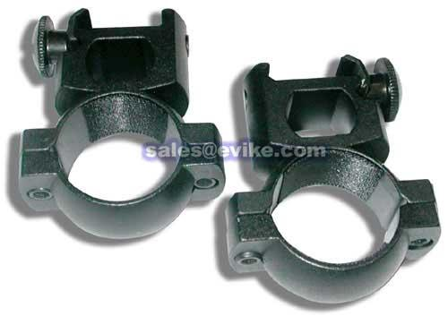 Real Steel Tactical 1 Weaver Scope Ring Set (High Profile) by AIM