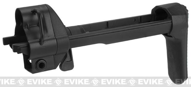 ICS Retractable Stock for MX5-P Style Airsoft AEG Sub-Machine Guns