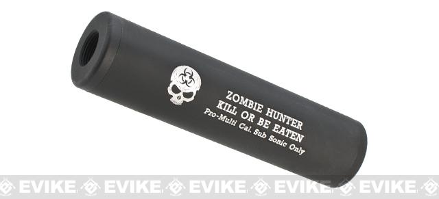 Matrix High Speed Airsoft Mock Silencer / Barrel Extension - 30 X 120mm - Zombie Hunter #2