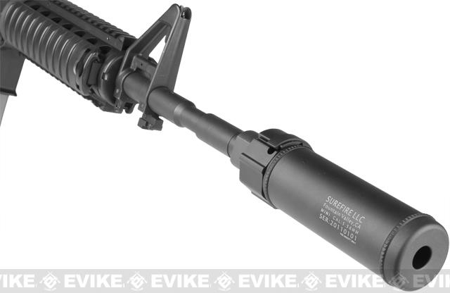 z Surefire Licensed Airsoft QD Mock Suppressor 5 Barrel Extension by Madbull