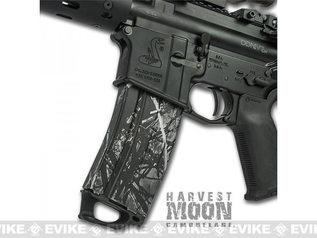 US NightVision Mag Wraps™ Rapid Wraps - Moonshine Camo: Harvest Moon