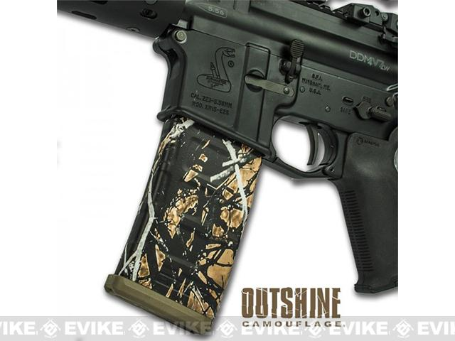 US NightVision Mag Wraps™ Rapid Wraps - Moonshine Camo: Outshine