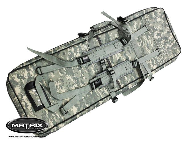 Matrix Special Forces 38(50) Dual Military Grade Rifle Case - ACU Camo
