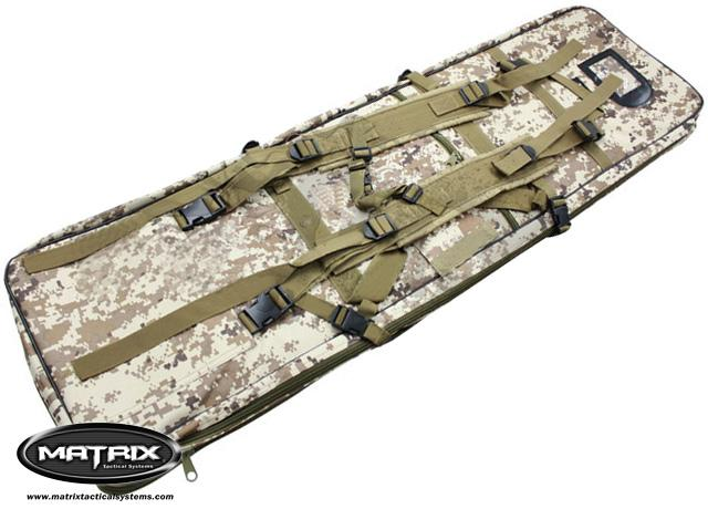 Matrix Special Forces 38(50) Dual Military Grade Rifle Case - Digital Desert Marpat