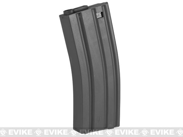 Elite Force 140rd Midcap Magazine for M4 / M16 Series Airsoft AEG Rifles - Black / One