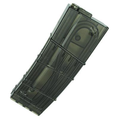 King Arms M4 130 rounds L5 Style Translucent Magazine for M4 Series Airsoft AEG (One)