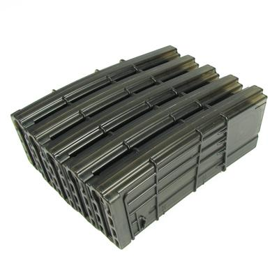 King Arms M4 130 rounds L5 Style Translucent Magazine for M4 Series Airsoft AEG (Set of 5)