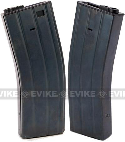 Matrix Full Metal 400 round Flash Mag for M4 M16 Series Airsoft AEG - Black