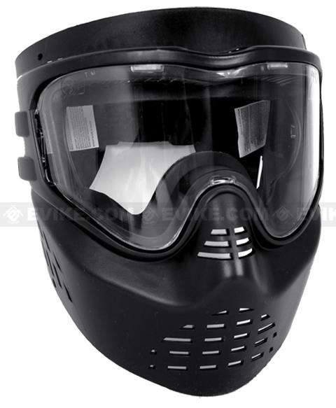 GenX Stealth Predator Skull Mask Airsoft / Paintball goggle system - Black (ASTM Approved)