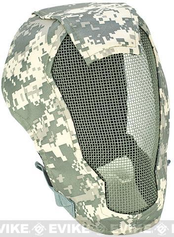 Matrix Iron Face Carbon Steel Striker Gen4 Metal Mesh Full Face Mask - ACU