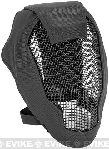 Matrix Iron Face Carbon Steel Striker Gen4 Metal Mesh Full Face Mask - Black