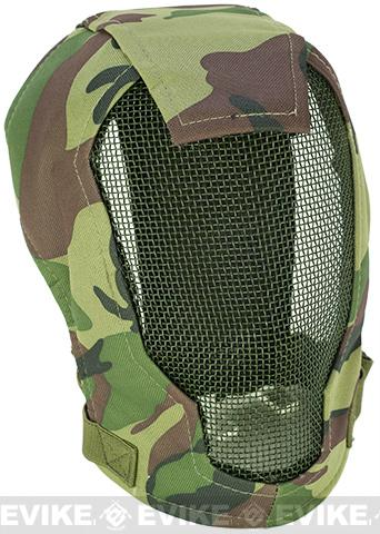 Matrix Iron Face Carbon Steel Striker Gen4 Metal Mesh Full Face Mask - Woodland