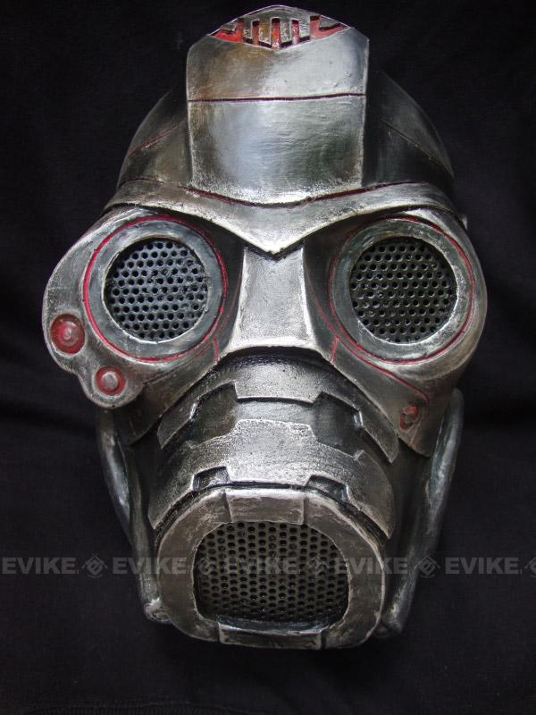 Evike.com R-Custom Fiberglass Wire Mesh Spectre Mask Inspired by Starcraft - Red / Black