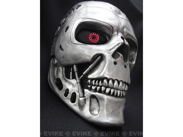 FMA Custom Fiberglass Wire Mesh T800 Mask Inspired by Terminator