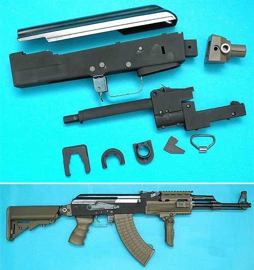 G&P Supreme Grade AK Metal Body Kit for Airsoft AK Series AEG (OD Green)