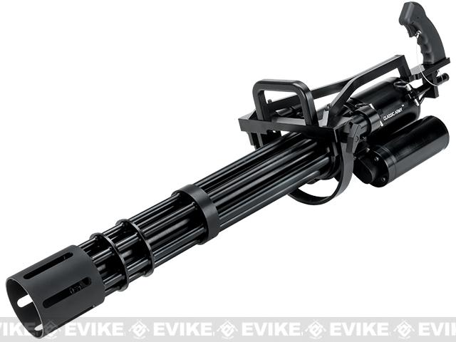 Pre-Order ETA November 2016 Classic Army M134-A2 CO2/HPA Powered Airsoft Minigun