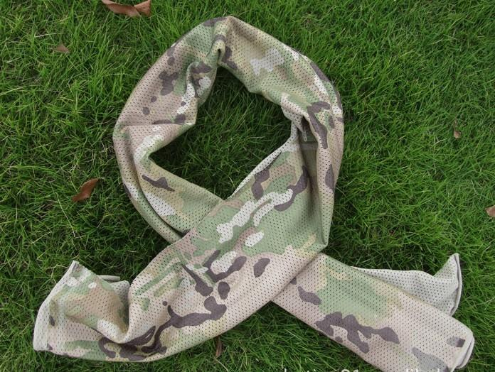 z Matrix XL Spec. Ops High Speed Sniper Veil Head Wrap Scarf - ACU Camo