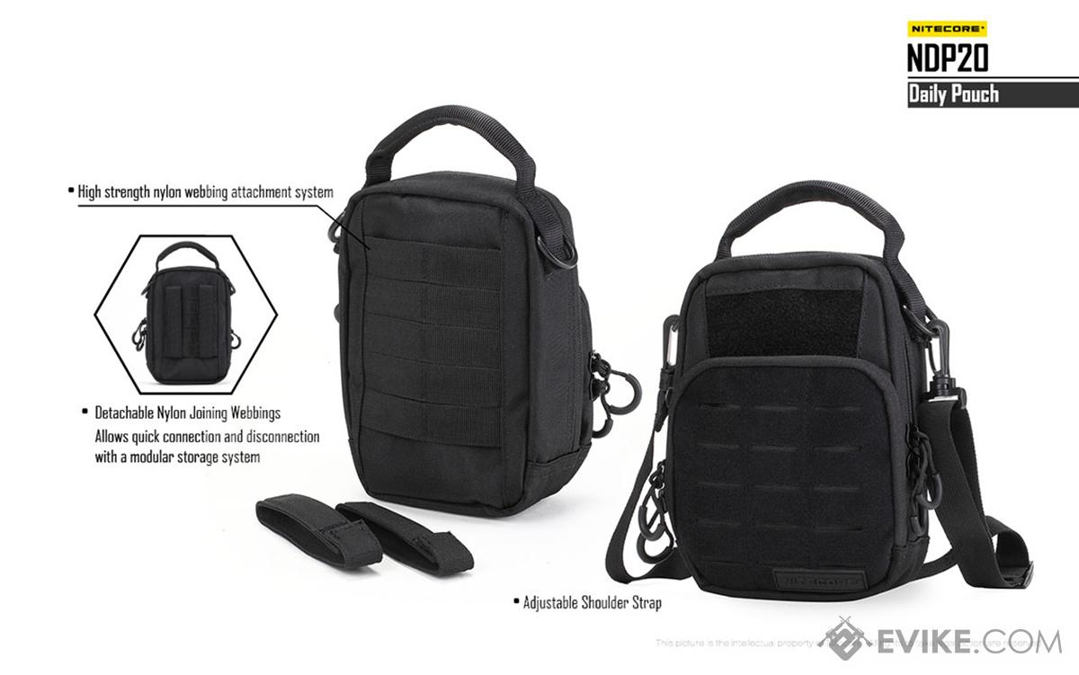 Nitecore NDP20 EDC Shoulder Bag - Black