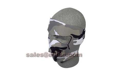 Bobster / Zan Tactical Neoprene Face Mask - Urban Camouflage