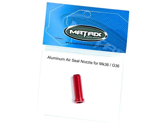 Matrix CNC High Performance Aluminum Air Seal Nozzle For TM G36 Airsoft AEG Series