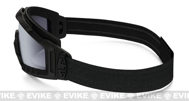 Oakley SI Ballistic ALPHA Halo Full Seal Goggle - Matte Black with Grey Lens