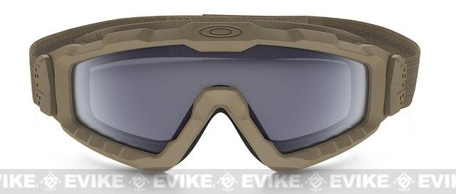 Oakley SI Ballistic ALPHA Halo Full Seal Goggle - Terrain Tan (Smoked)