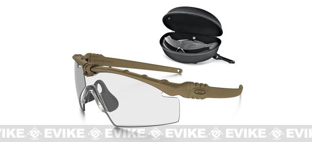 Oakley SI Ballistic M Frame 3.0 Array - Dark Bone w/ Clear & Grey Lenses