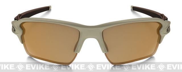 Oakley Flak Jacket 2.0 with Bronze Lenses - Desert