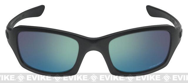 Oakley SI Fives Squared - Matte Black w/ Maritime Polarized Prizm Lens