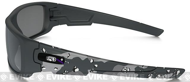 Oakley Infinite Hero Crankshaft - Matte Carbon Camo with Black Iridium Lenses
