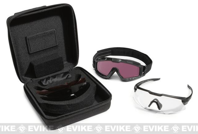 Oakley SI Ballistic M Frame Alpha Operator Kit with Carrying Case - Matte Black