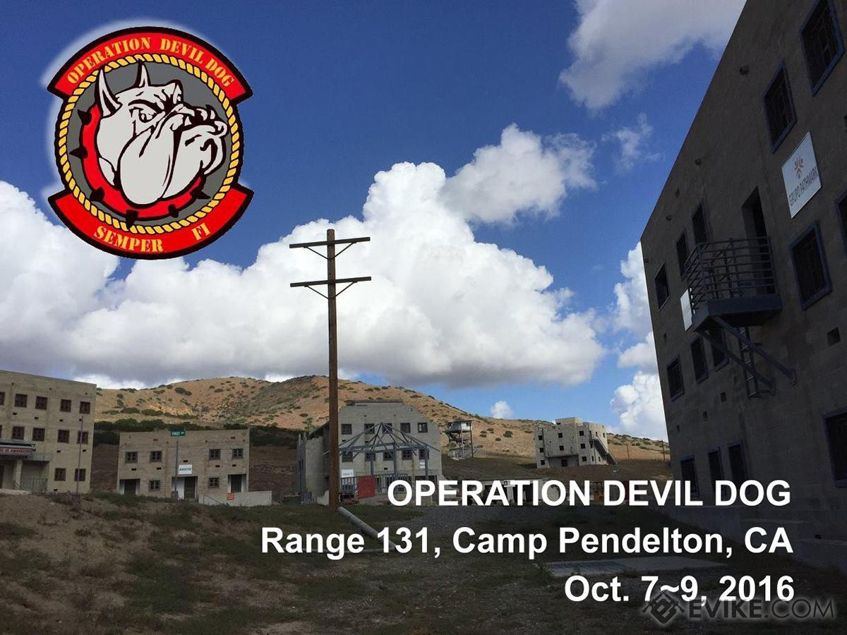 Operation Devil Dog (October 7-9, 2016, Range 131, Camp Pendleton , California) - Black Widow