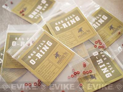 Evike.com Moondog Industries Universal Gas Fill O-Ring Set for Airsoft Gas Gun Magazines