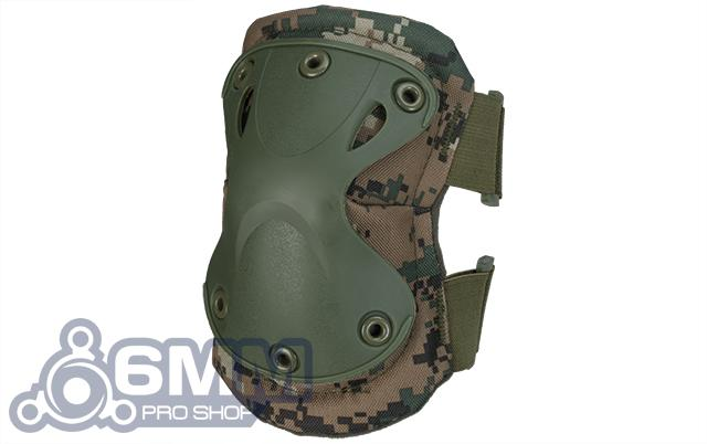 6mmProShop Tactical Knee & Elbow Pad Set - Digital Woodland